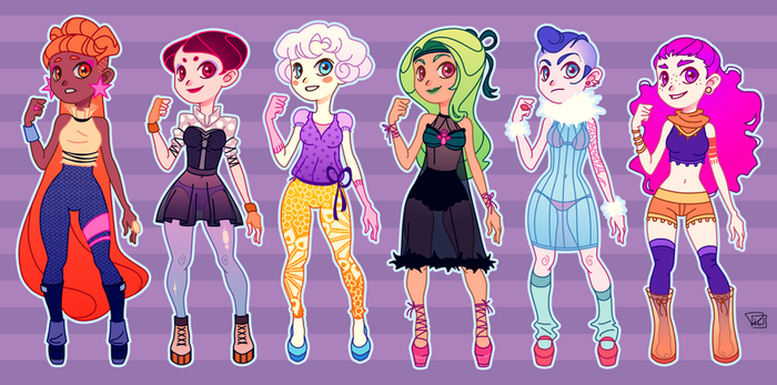 Little Ladies by richie-on-a-mission