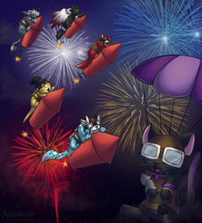 Enter the New Year with a BANG by Inkshadow