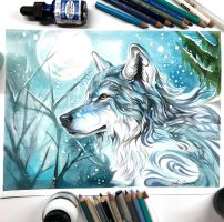 1- Winter Wolf by Lucky978