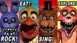 Unwithereds FNaF 2 Poster by StarkKidd