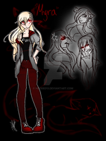 [Mini Ref/Sketch:] Myra  by Hooded13