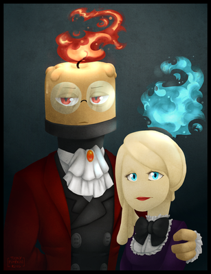 Edward and Angelica by AlexTheShark
