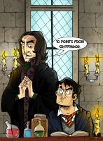 10 points from Gryffindor by cool-slayer