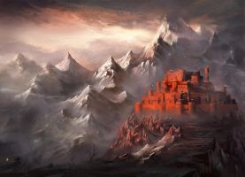 Red Castle by Nele-Diel