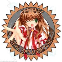 Kotori Seal of Approval by SquallEC