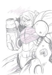 Samus by Dannith