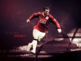 Wayne Rooney Wall by metalhdmh