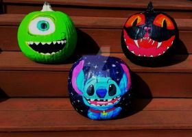 Pumpkin Paintings 2016 by WowLovely88