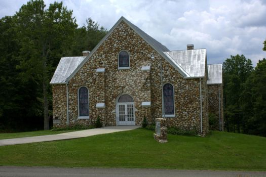 Buffalo Mountain Church by TheReverendEd