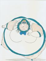 Obese Sailor Neptune by Robot001