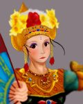 The Balinese Dance by artevoletia