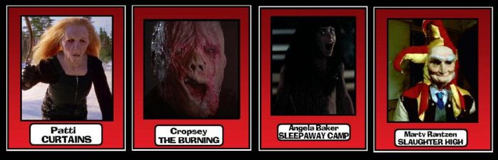 Horror Cards Burning Curtains Sleepaway Slaughter by Lordwormm