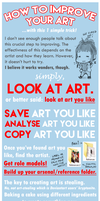 How to Improve Your Art by parapatter