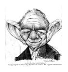 Wolfgang Schauble caricature by nelsonsantos