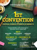 Political Science Event Poster by jlgm25