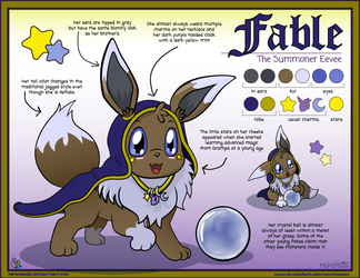 Fable Reference Sheet by MeMiMouse