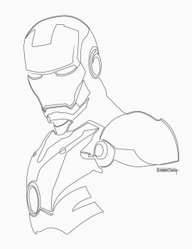 Iron Man by Acrylix91