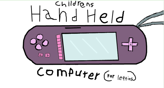 Hand Held Computer by AnAnonymusCat