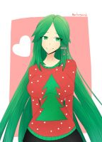 Palutena Chrismas by MauLegend98