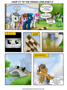 Hoof it to the Finish Line .: Part 1 :. by Sketchzi