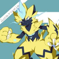 zeraora by luarioujar
