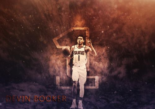 Devin Booker PHOENIX SUNS ! by AYGBMN