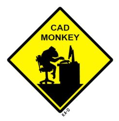 CAD MONKEY by ka-D