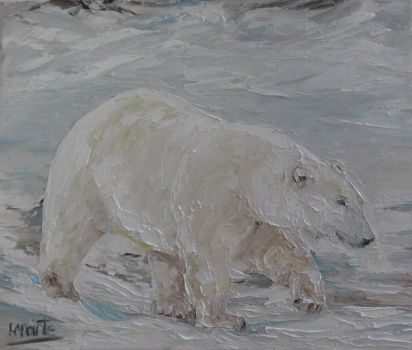 Polar bear by Shaytan666
