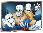 Commission - Skelefamily by ParaParano