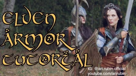 Make your own Elf Armor from the Lord of the Rings by arijana1988