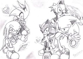 Sonic The Hedgehog by Fly-Sky-High