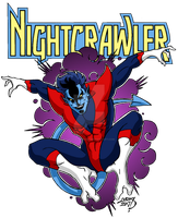 Nightcrawler 2017 COLORED by LucasAckerman