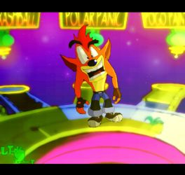 Crash Bash Warp Room by LeTourbillonEnchanT