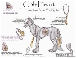 ColeHeart Refrence Sheet by BrittanyWillows