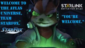 Welcome to the Starlink Initiative - Fox and Crew by dragonheart07