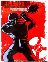 Soldier Propaganda Poster by Reanimated-K