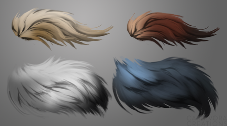 fuzzy swatches by Chickenbusiness