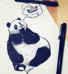 Hungry Panda by Alex-View