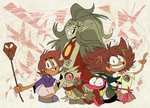 The Owl House and Amphibia by EeyorbStudios
