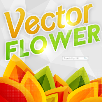 Vector Flower by ExpertforLight