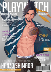 Playwatch Anniversary Hanzo by manusogi