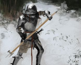 Knight 4 by Neroit