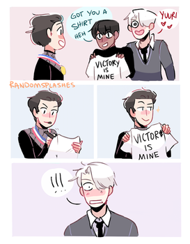YOI: VICTOR IS MINE by Randomsplashes
