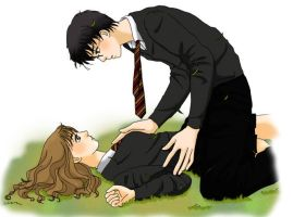 Harry x Hermoine by thisisskye