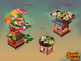 SUSHI LAND by shkshk7
