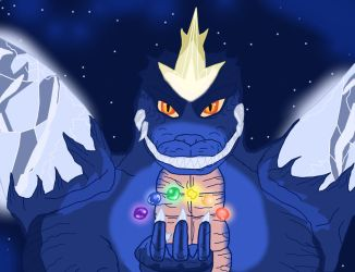 SpaceGodzilla What if..... by Saurian96