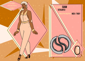Siam's Canary Diamond App! [approved] by Evelin333