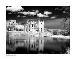 Reflections of Raby IR by Wayman