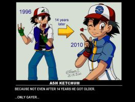 Ash Ketchum - Motivational by LLIINNKK