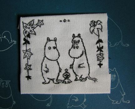 Moomins and Little My by IndigoCharm